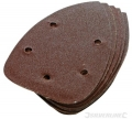 lot de 10 feuilles abrasives auto-agrippantes 140 mm