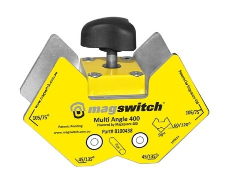 Etau magnétique Mag multi-angle mag-vise Magswitch 400A