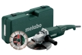 Meuleuse puissante 2200W 230mm Metabo
