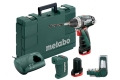 perceuse visseuse embouts batteries chargeur metabo