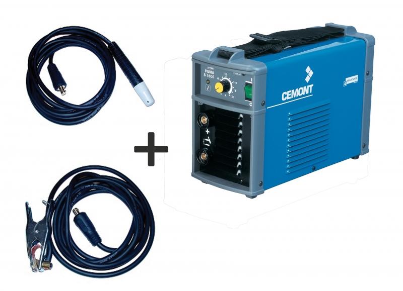 Fuorilegge cospirazione Vita  poste à souder cemont puma s 1700 G compatible groupe électrogène + câbles  de 4m : Outiland