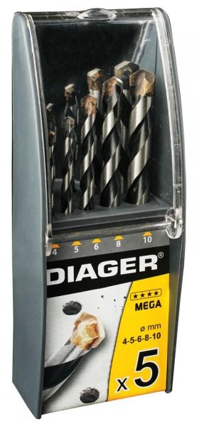 Coffret 5 Forets Flash /Ø4-5-6-8-10 Diager