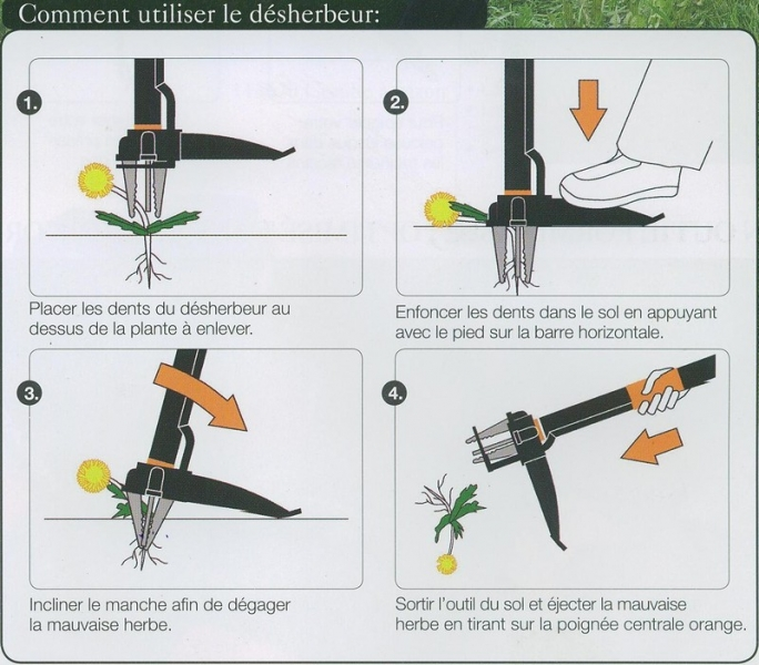 d sherbeur fiskars cologique 4 dents vu la tv. Black Bedroom Furniture Sets. Home Design Ideas