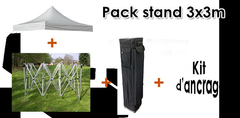 stand tonnelle pergola tente 3 x 3 m tres pliable avec toile en pvc 520g m outiland. Black Bedroom Furniture Sets. Home Design Ideas