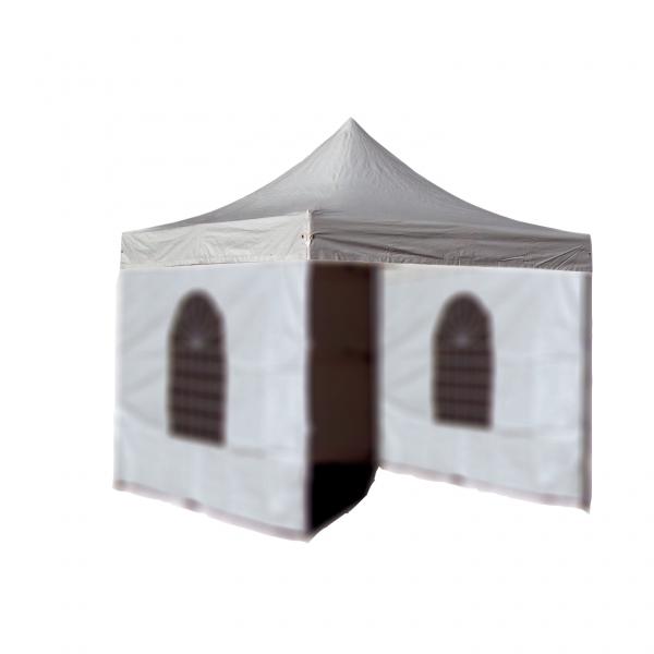 toit en pvc 520g m pour tonnelle stand pergola jardin pliable 3x3 outiland. Black Bedroom Furniture Sets. Home Design Ideas