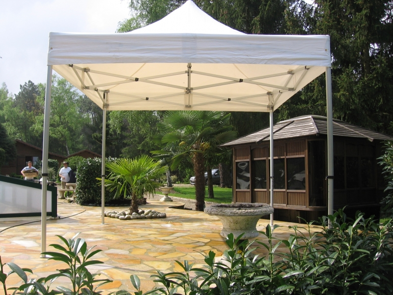 Stand Tonnelle Pergola Tente 4 X 4 M Tres Pliable Avec