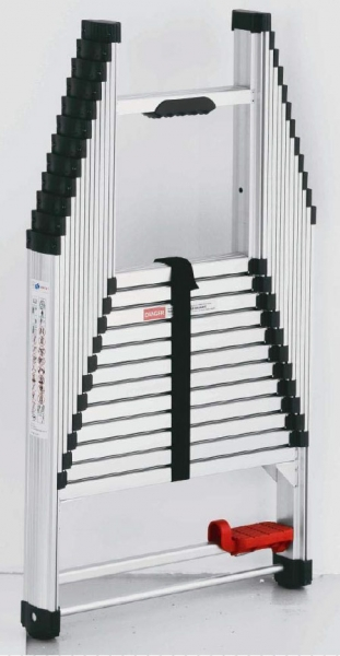 echelle t lescopique 4 m tres extender mob outillage. Black Bedroom Furniture Sets. Home Design Ideas